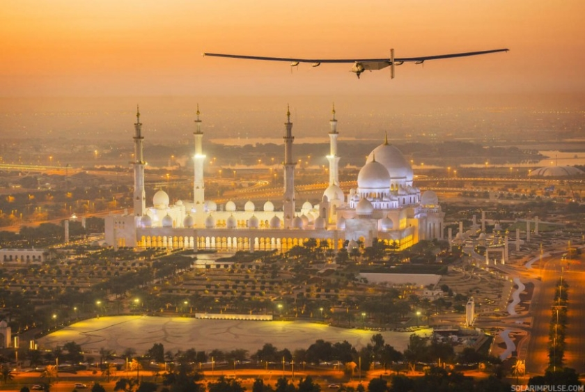 Solar Impulse begint recordvlucht