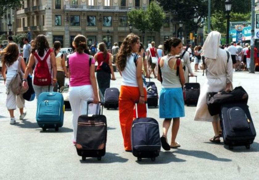 Barcelona weert bikinis uit straatbeeld