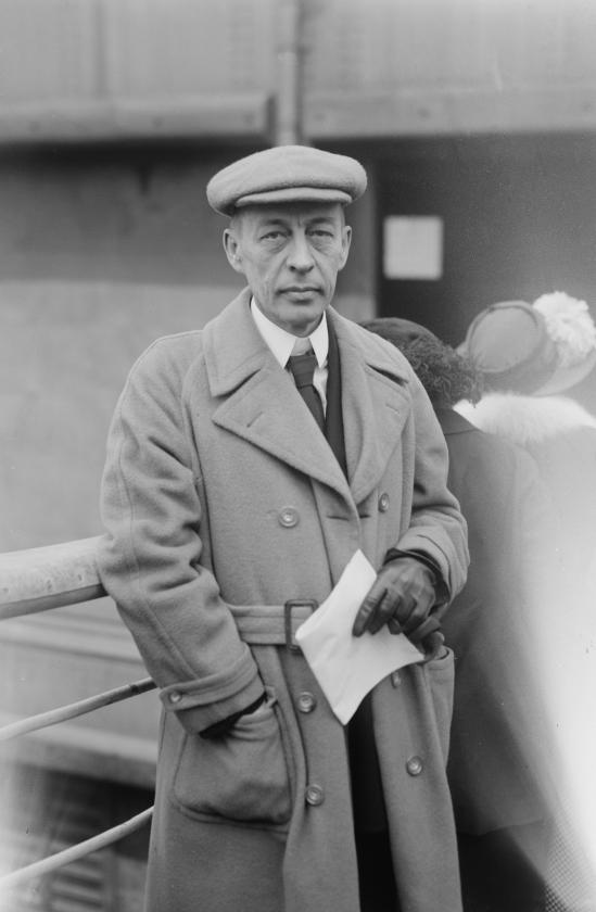 Rachmaninov, geplaagd door auteursrecht