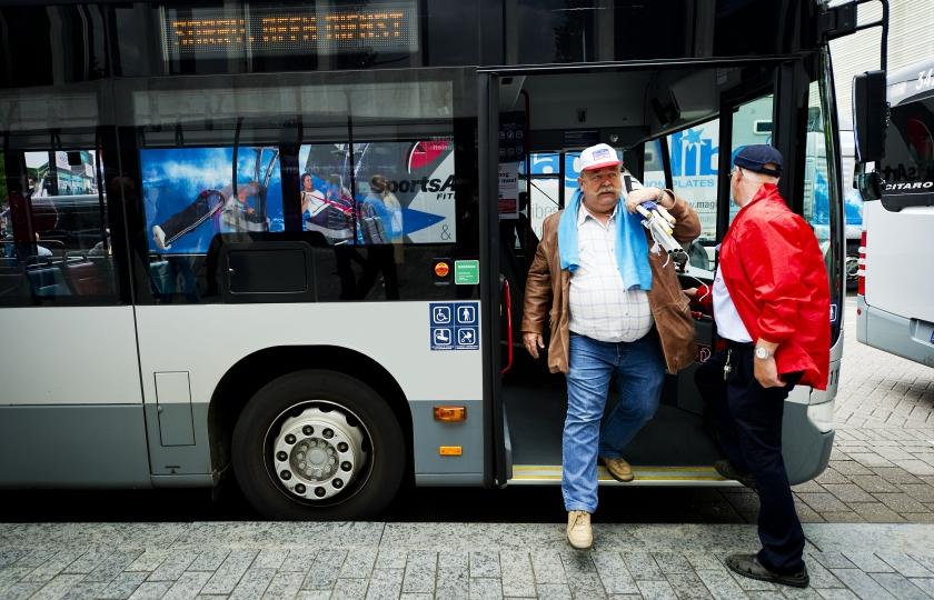 Automobilist schat reistijd bus te lang in
