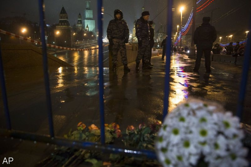 Mars tegen Poetin afgelast om moord op Nemtsov