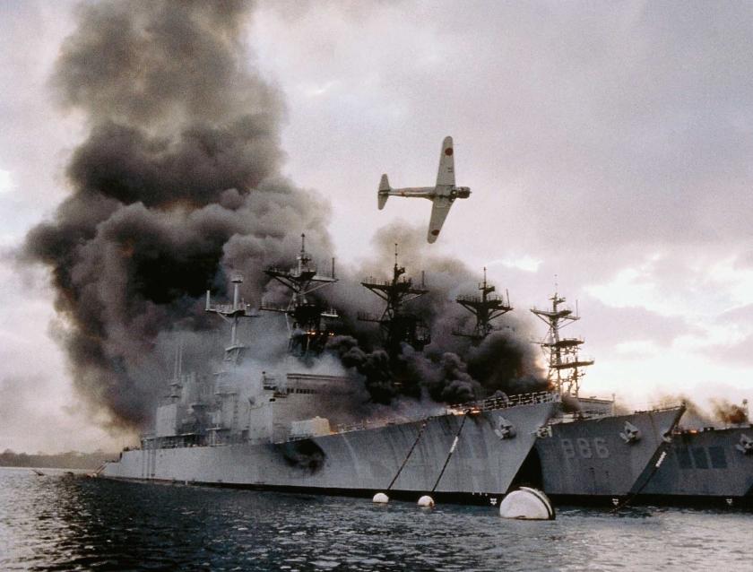 De Pearl Harbor-achtbaan