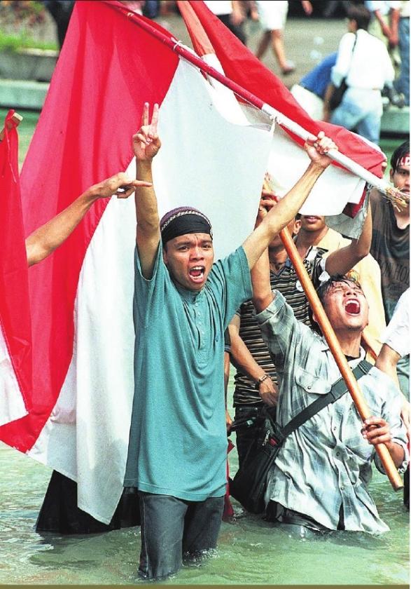 Indonesië volgt revolutie Egypte nauwlettend