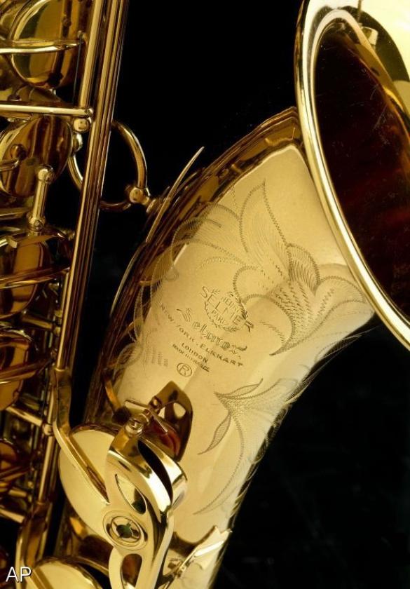 Saxofoon John Coltrane naar Smithsonian