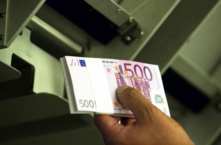Biljet 500 euro populair