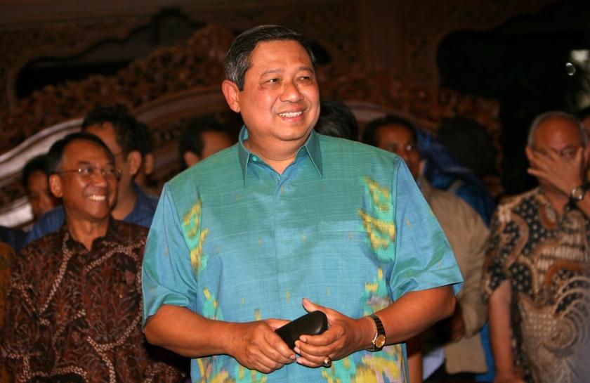 Yudhoyono stevent af op herverkiezing