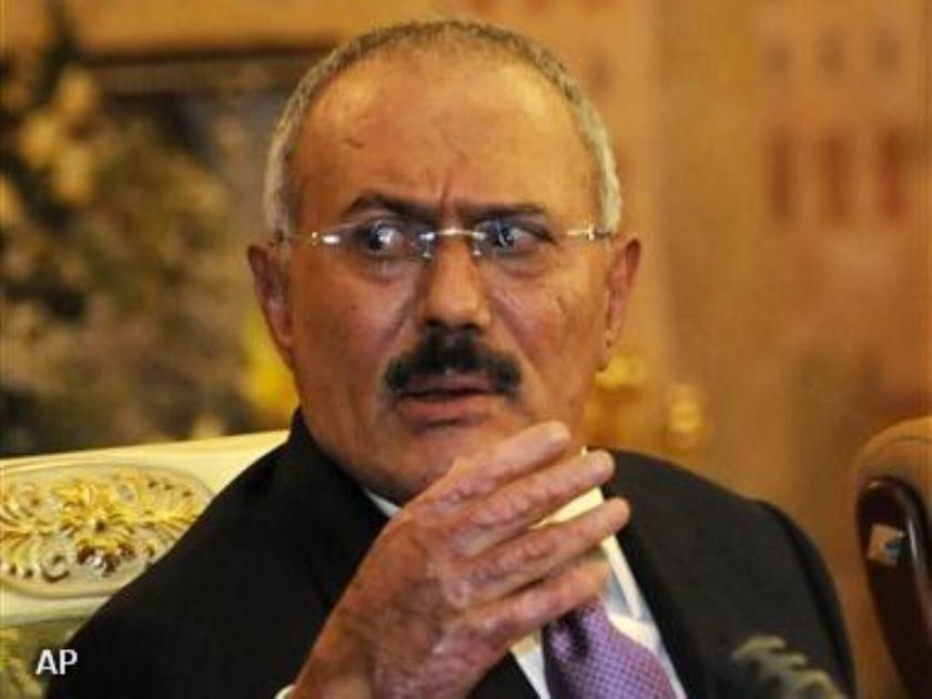 Saleh blijft in Jemen