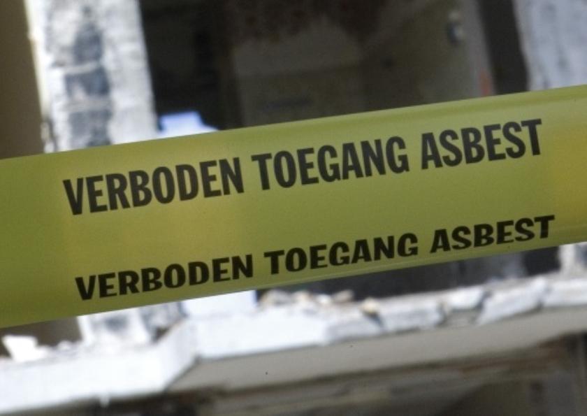 Zorgwekkende situaties bij asbestslopers
