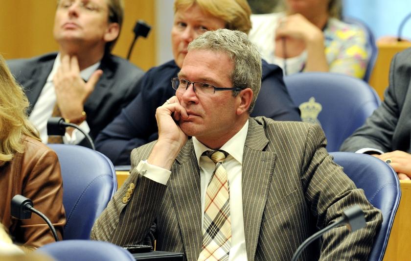 SGPer Elbert Dijkgraaf onwel tijdens debat