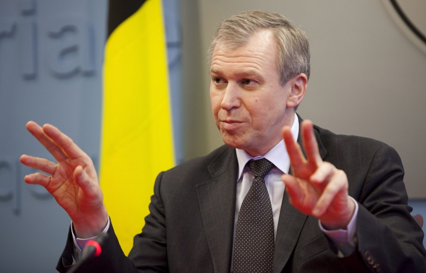 Belgische premier Leterme naar koning