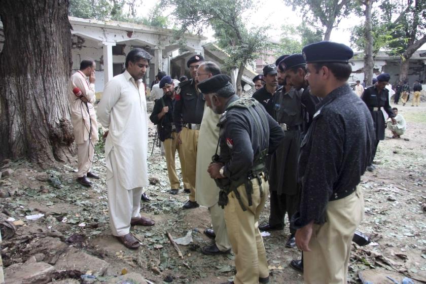 Leger Pakistan slaat terug na aanslag in Swat