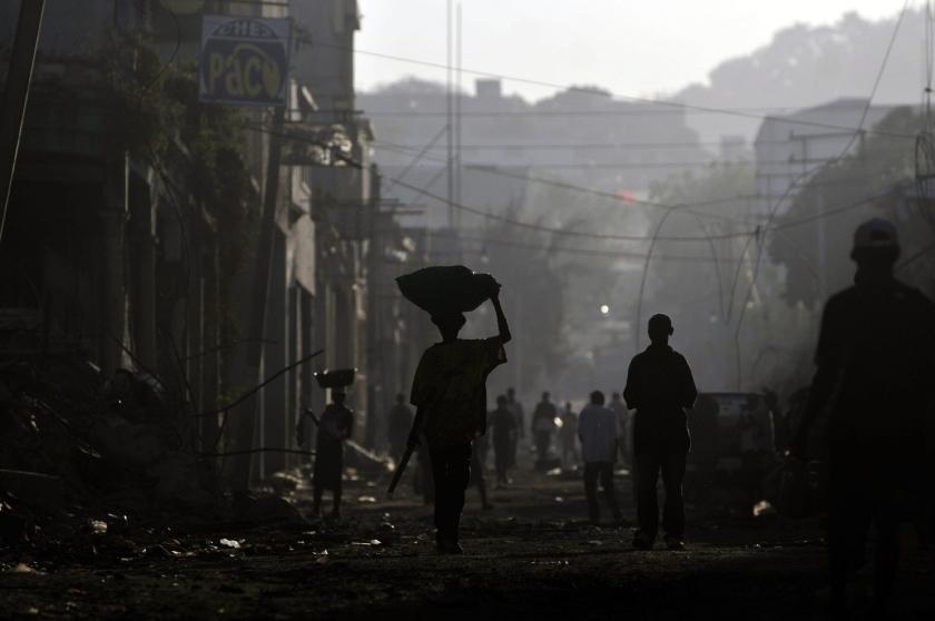 Nationale dag van rouw in Haïti