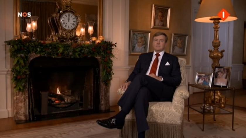 Eerste kerstspeech koning Willem-Alexander