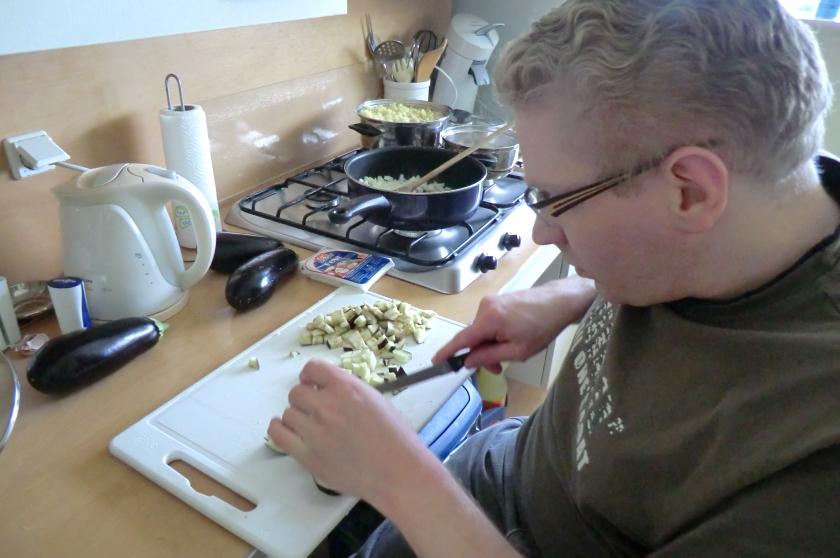 Redacteur in de keuken: Griekse ovenschotel met courgette en aubergine
