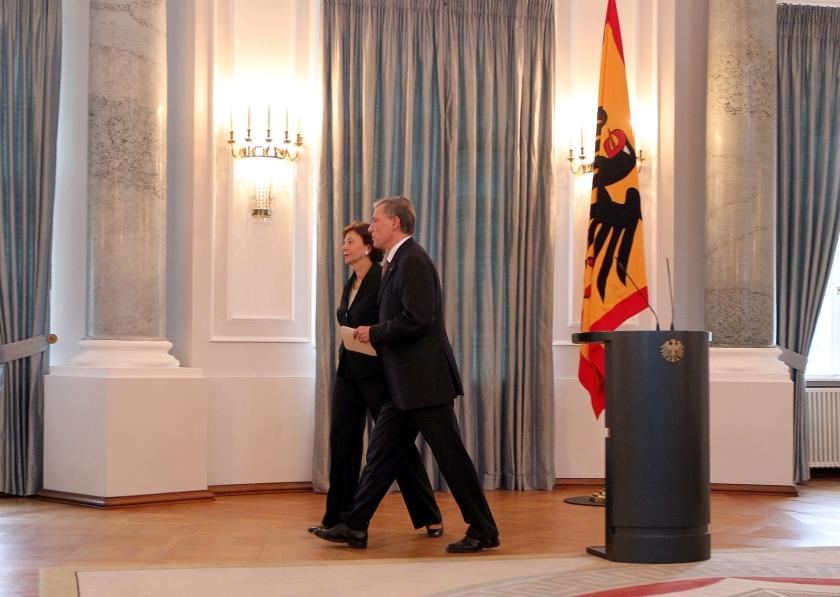 Duitse president Horst Köhler treedt af