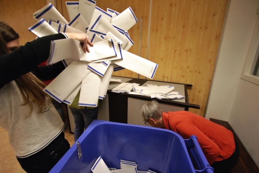 Volg uitslagen verkiezingen via Verkiezingen-site