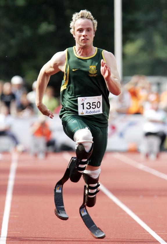 Blader runner Pistorius op oorlogspad