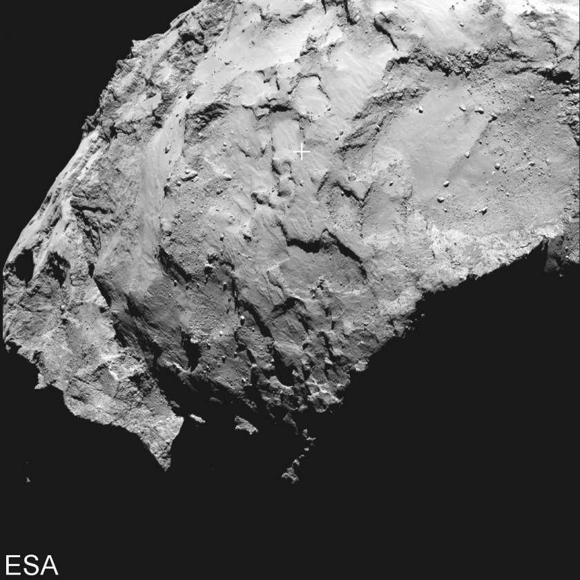 ESA kiest landingsplek voor Rosetta