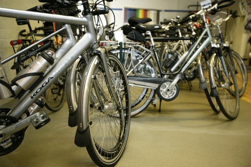Online fietsenhandel mag niet vanuit huis