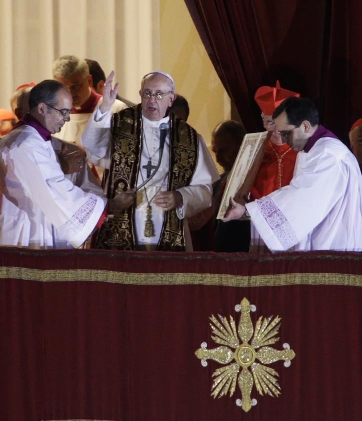 Franciscus 1: een sobere Argentijn