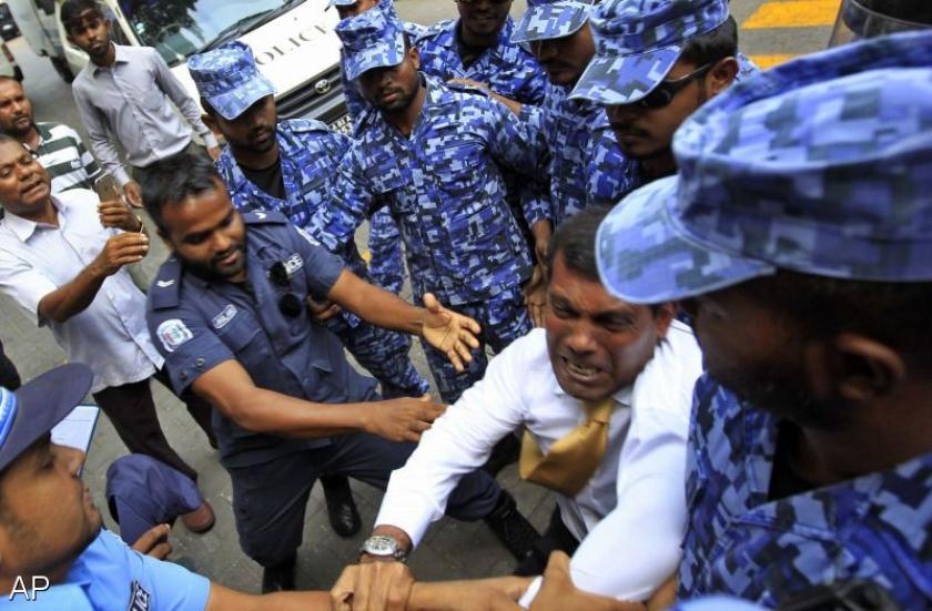 Arrestaties bij massale demonstratie Maldiven