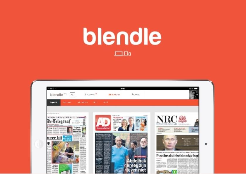 Blendle verkoopt artikelen uit drie grootste kranten VS