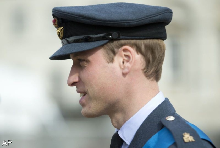 Prins William aan de slag op traumahelikopter