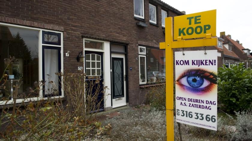 Huizenprijs daalt nog jaren