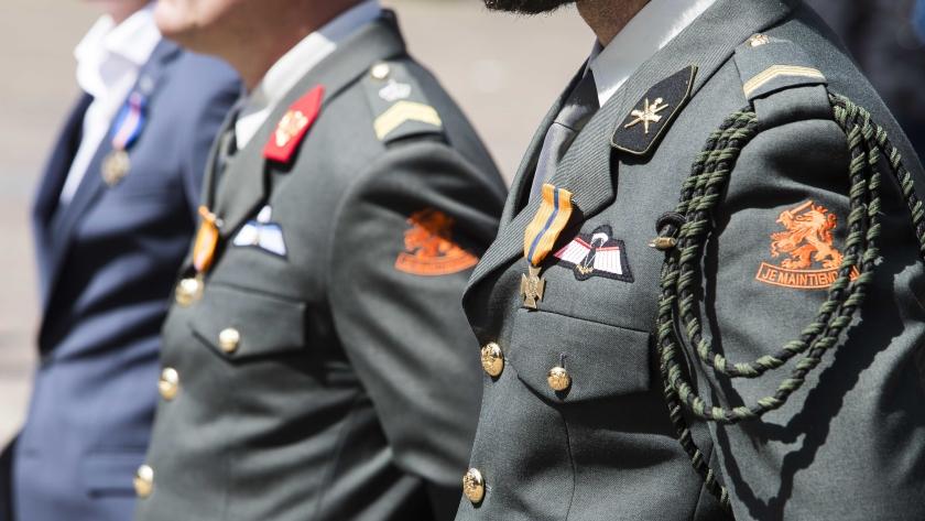 Uitzonderlijke moed levert veteranen onderscheidingen op