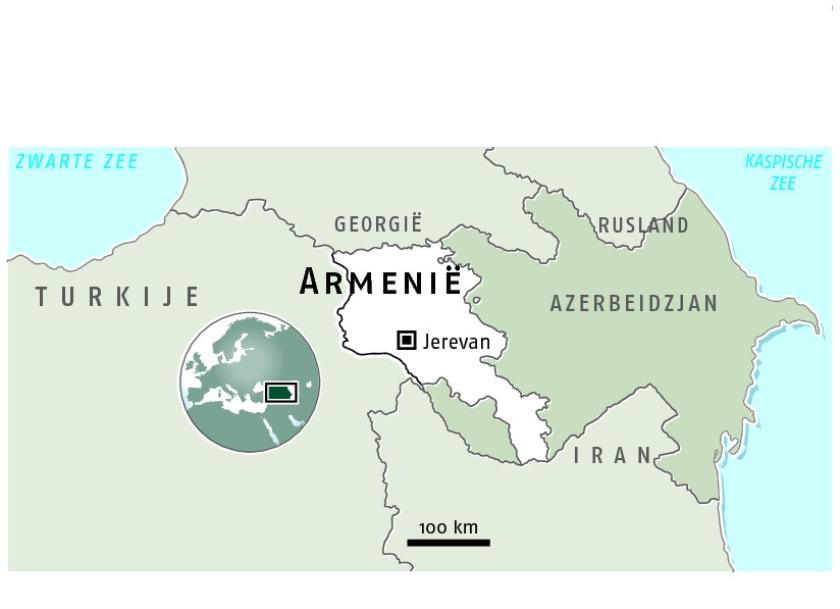 Op weg naar Jerevan