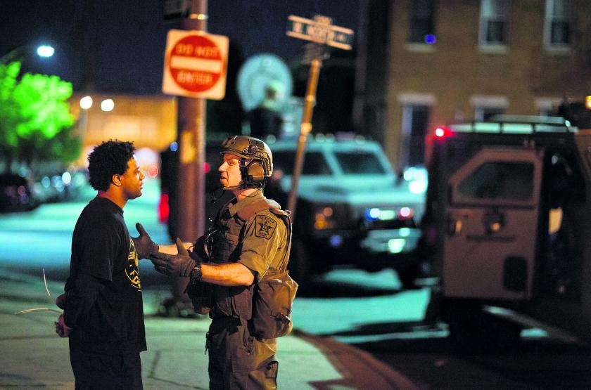 Ook in Baltimore is redelijkheid weg  (ap / David Goldman)