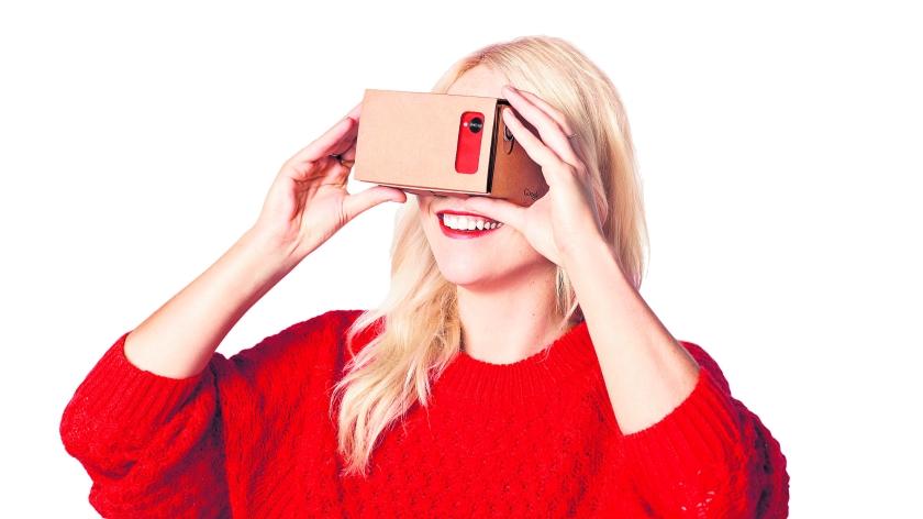 Betaalbare virtual reality