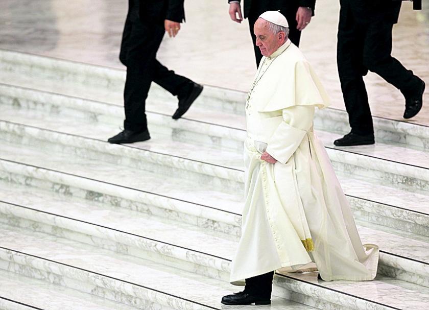 Debat seksuele moraal rooms-katholieke kerk blijkt zoektocht  (ap / Gregorio Borgia)