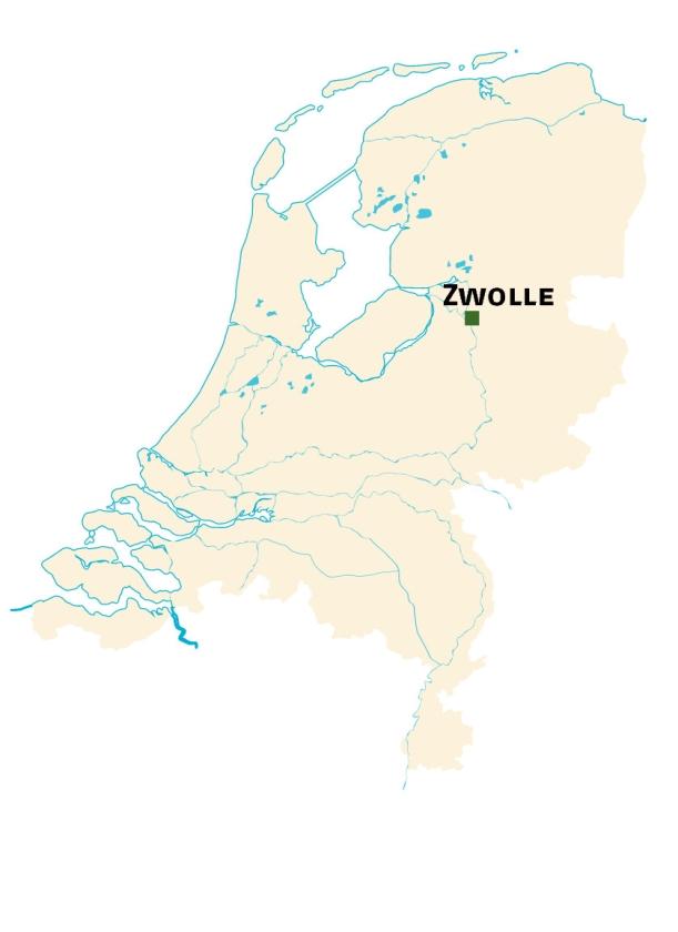 Hier gebeurde het: zeldzame gebeurtenis in Zwolle