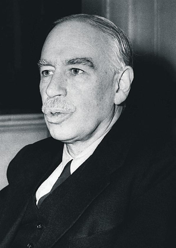 Na een crisis oogst econoom Keynes meeste lof  (ap en nd)