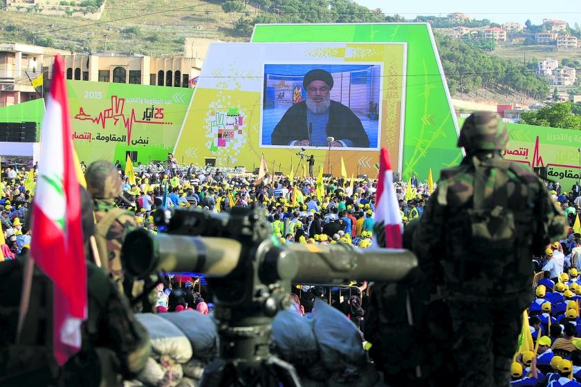 Hezbollah in crisis door uitputtingsslag in Syrië  (ap / Mohammed Zaatari)