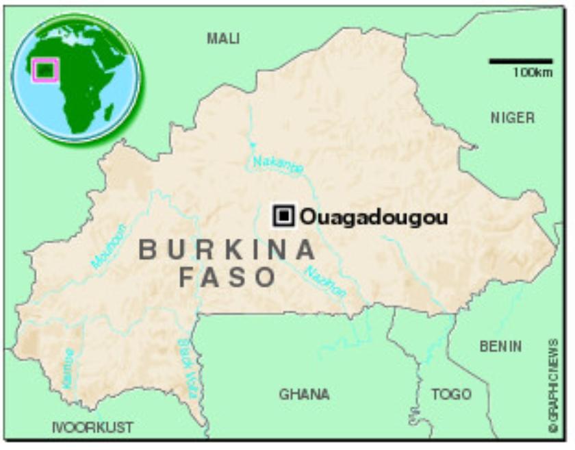 'In Ouagadougou is het veilig'  (nd)