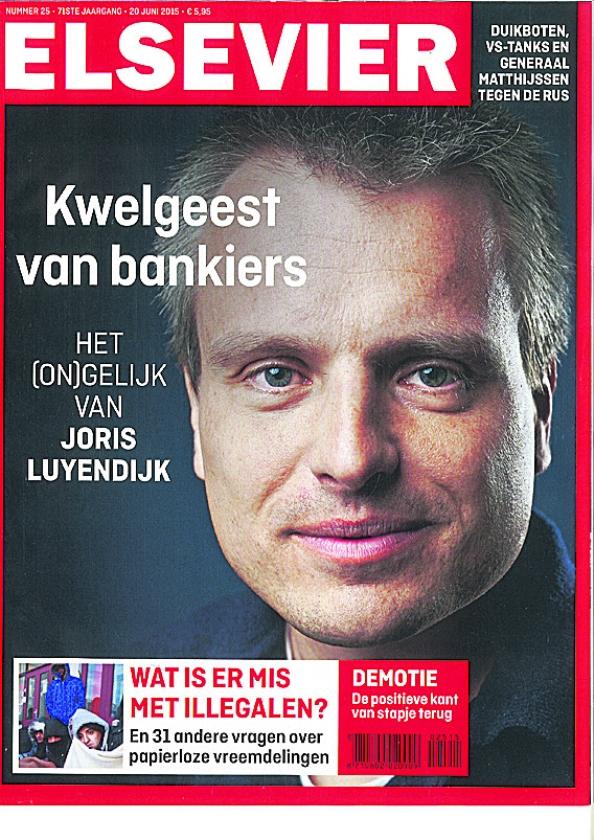 Blogs en Bladen: Luyendijk en de bankiers