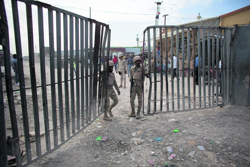 Dominicaanse Republiek wil af van migranten uit Haïti  (ap / Rebecca Blackwell)