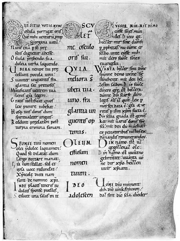 Het mysterieuze begin van het Nederlands fascineert   (Universiteit Leiden)
