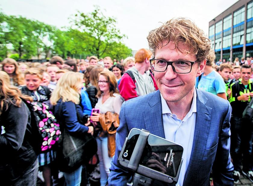 Gaat Dekkers mediawet Hilversum veranderen?  (anp / Robin van Lonkhuijsen)