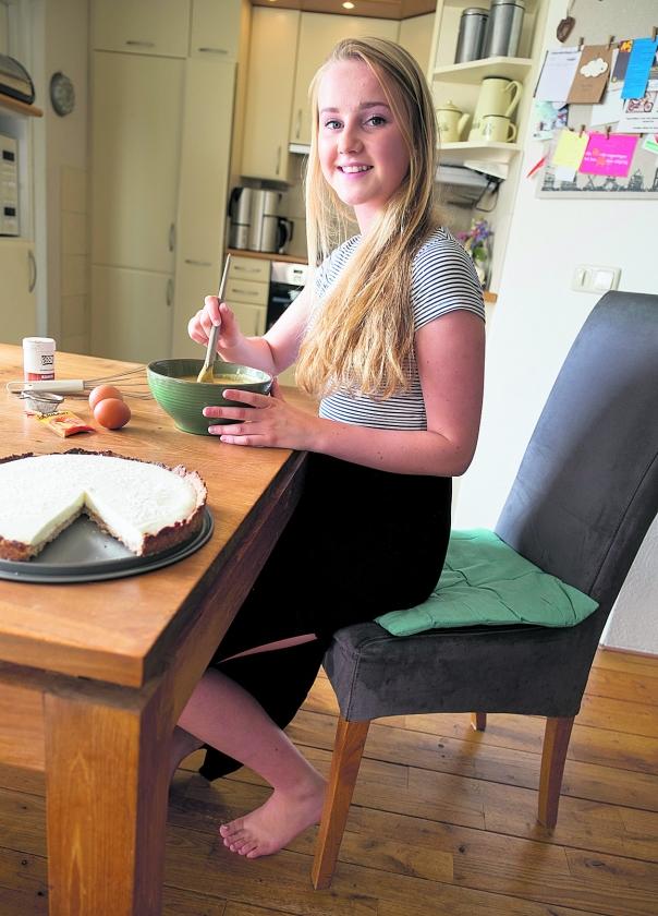 Talitha (18): 'Ik heb een weblog over gezond eten'