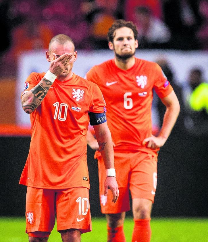 Oranje van voetbalgidsland naar de marge