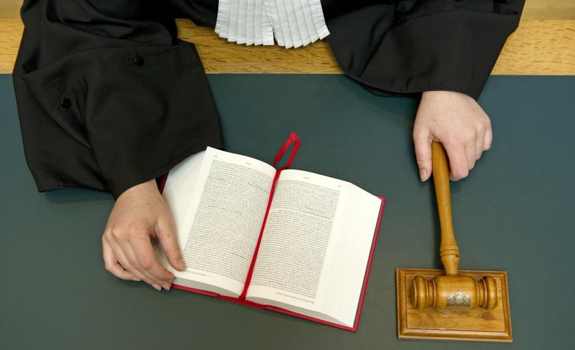 Door tijdgebrek bij de rechterlijke macht blijven rechtszaken soms te lang op de plank liggen.  (anp / Lex van Lieshout)