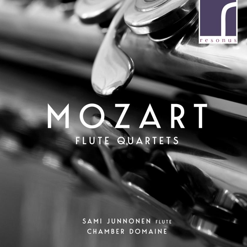 CD: Sami Junnonen, flute - Mozart - Flute Quartets