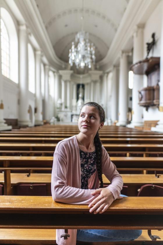 Isabel Veselka: 'Af en toe denk ik: wat bedoelt Jezus hier?'   (Hielco Kuipers)