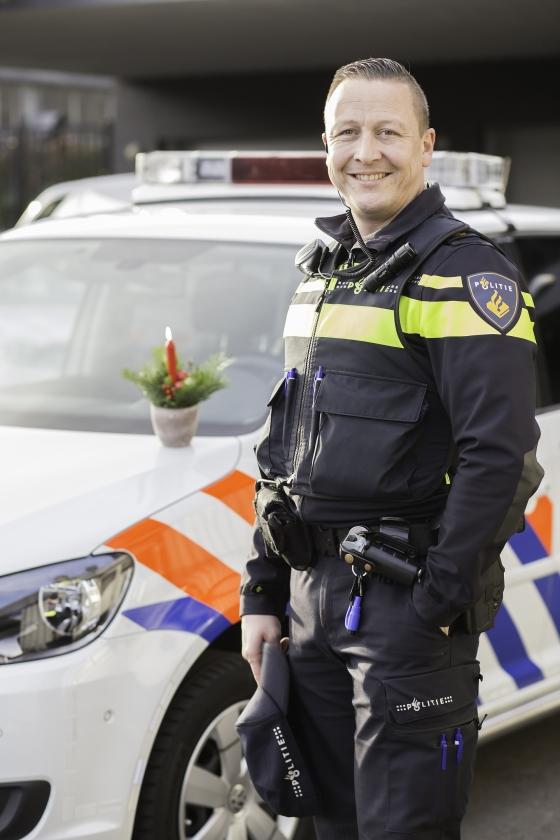 Werken met Kerst: de politieagent  (Jacqueline Imminkhuizen)