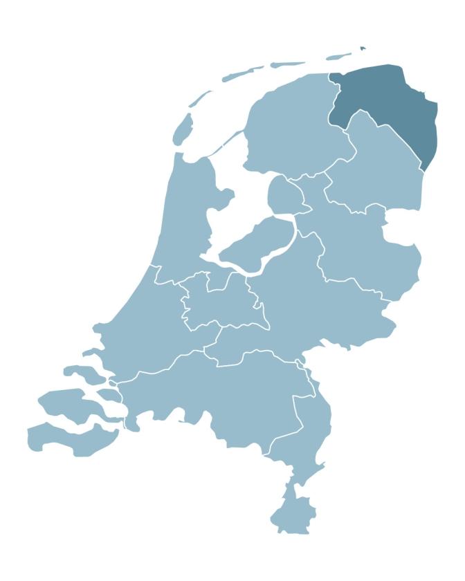 Statenverkiezingen 2019: Groningen -  Treinen stoppen bij stootblokken   (nd)