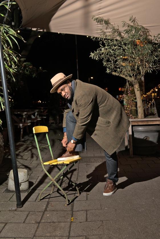 In gesprek met Rivelino Rigters: 'Ik houd van mooie hoeden'   (Rufus de Vries)