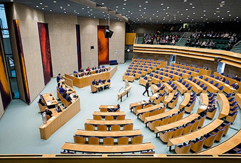 Van de 81 partijen die hopen in de Tweede Kamer te komen, zullen er veel teleurgesteld worden.  (anp / Bart Maat)